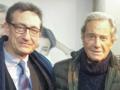 Con Arturo Fernández