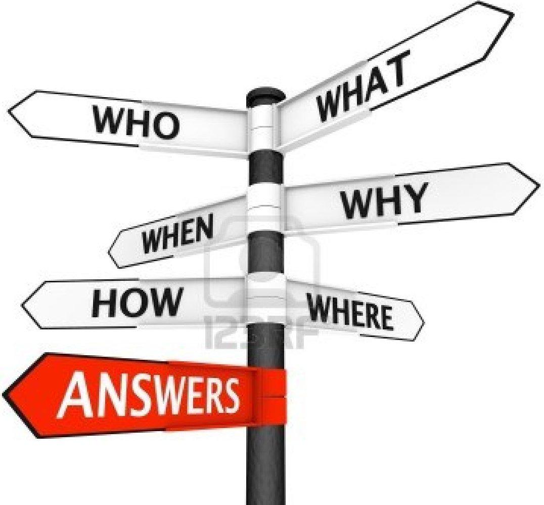 preguntas y W